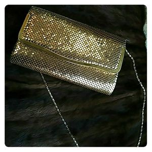 Handbags - Gold Sequins purse